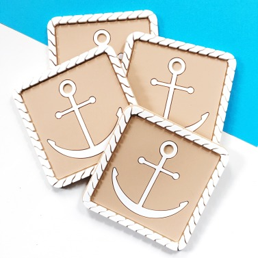 Vessel Coasters_Rope Anchor in Tan_1